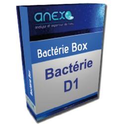 Analyse d'eau Bactérie D1 dite de potabilité