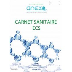 Recharge TOME 1  Carnet Sanitaire ECS