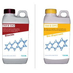 Kit Desinfect'TAR K2 (Biocide non oxydant et Biodispersant)