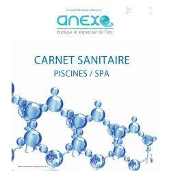 """Recharge TOME 1  - Carnet Sanitaire PISCINE/SPA """"Saisonnier"""""""