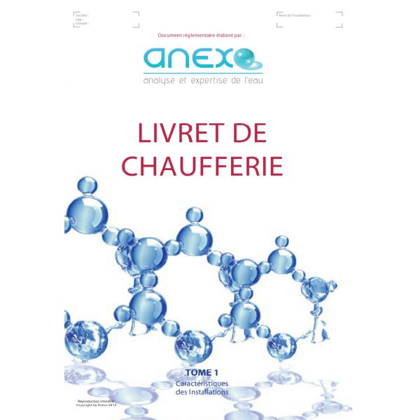 Recharge tome 1 carnet sanitaire piscine spa anexo for Carnet sanitaire piscine