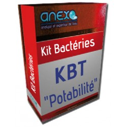 Kit BACTERIES TOTALES (KBT) - analyse d'eau Potabilité