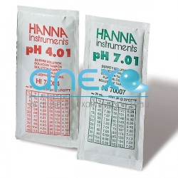 Solutions tampon PH 7 & 10 en sachet de 20 ml (HI770710P)
