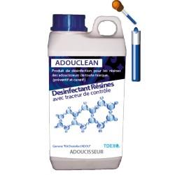 Desinfectant Nettoyant Résine d'adoucisseur avec traceur