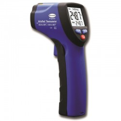 "Thermomètre infrarouge ""PISTOLET LASER"" -50/350°C - Suivi T°C ECS Legionelle"