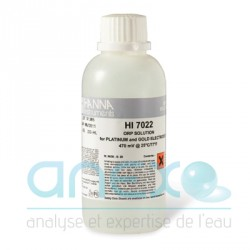 500 ml - Solution REDOX 470mV (étalonnage calibration ORP (HI 7022L)