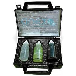 Kit de dureté TH avec 3 réactifs - 100 tests