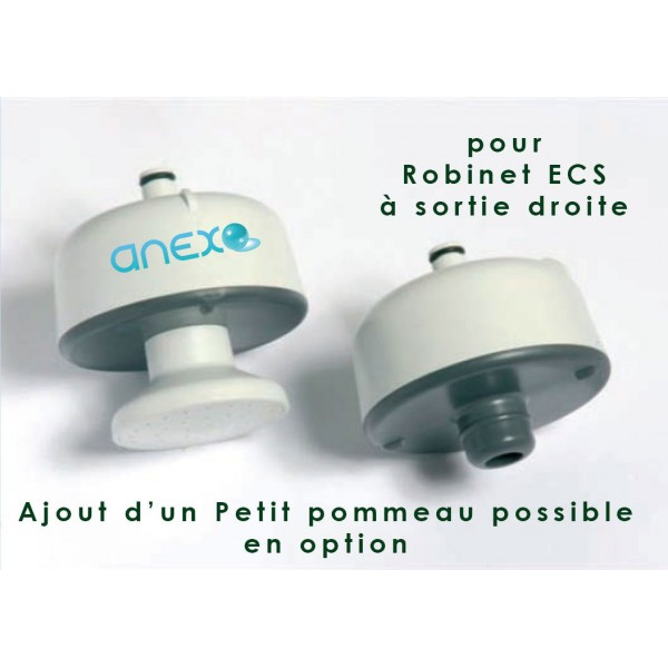 Robinet filtre anti l gionelle pall sortie droite anexo for Filtre d eau robinet
