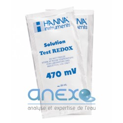 100 ml - Solution REDOX 470mV (ORP) en Sachet de 20 ml