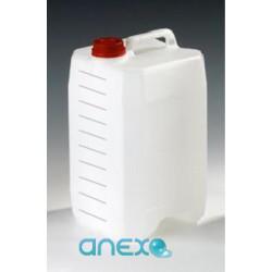 Bidon transparent gradué de 10 litres - Bac de dosage
