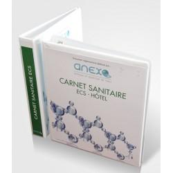 Classeur à vos couleurs pour Carnet Sanitaire ECS Légionelles