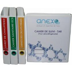"""Carnet Sanitaire ECS """"Gold"""" - Pack DIAGNOSTIC ECS"""