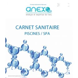 """Recharge TOME 2  - Carnet Sanitaire PISCINE/SPA """"Saisonnier"""""""