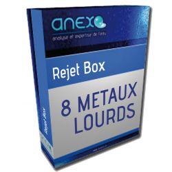 """Analyse de 5 METAUX """"isolés"""" (lourds) TAR 2921"""