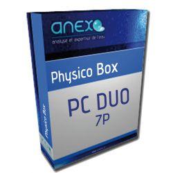 Analyse d'eau PHYSICO DUO Box 7 Papramètres Appoint + Circuit