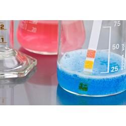 Bandelette de TH - Dureté - 0 à 50°f ou 500 mg/l ou ppm