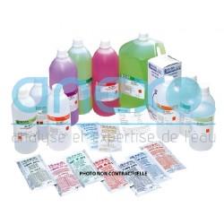 Solution pH 7 et Conductivité 1413 µS/cm - 2 x 10 sachets Certificat